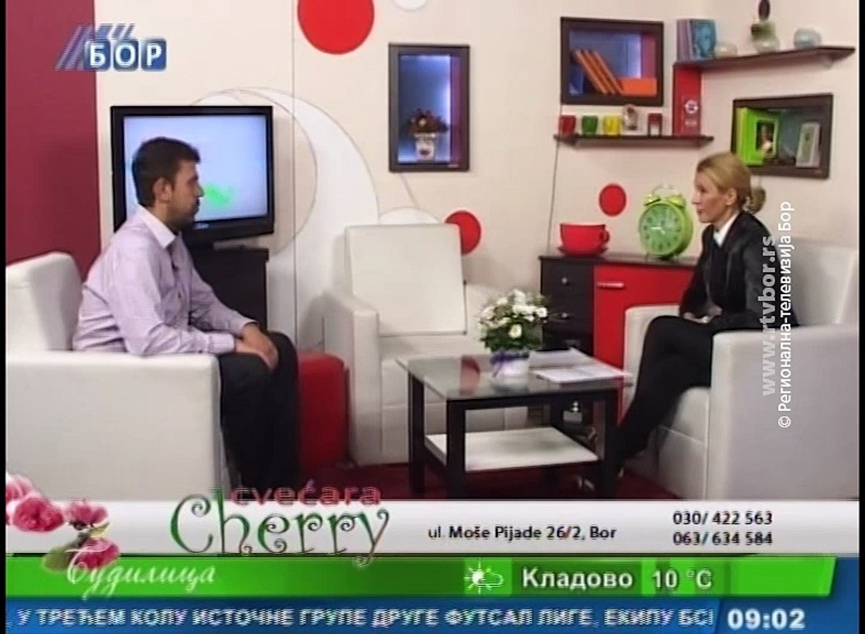 Budilica gostovanje (Saša Radulović), 7. novembar (RTV Bor)