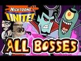 Nicktoons Unite All Bosses | Boss Battles (PS2, Gamecube)
