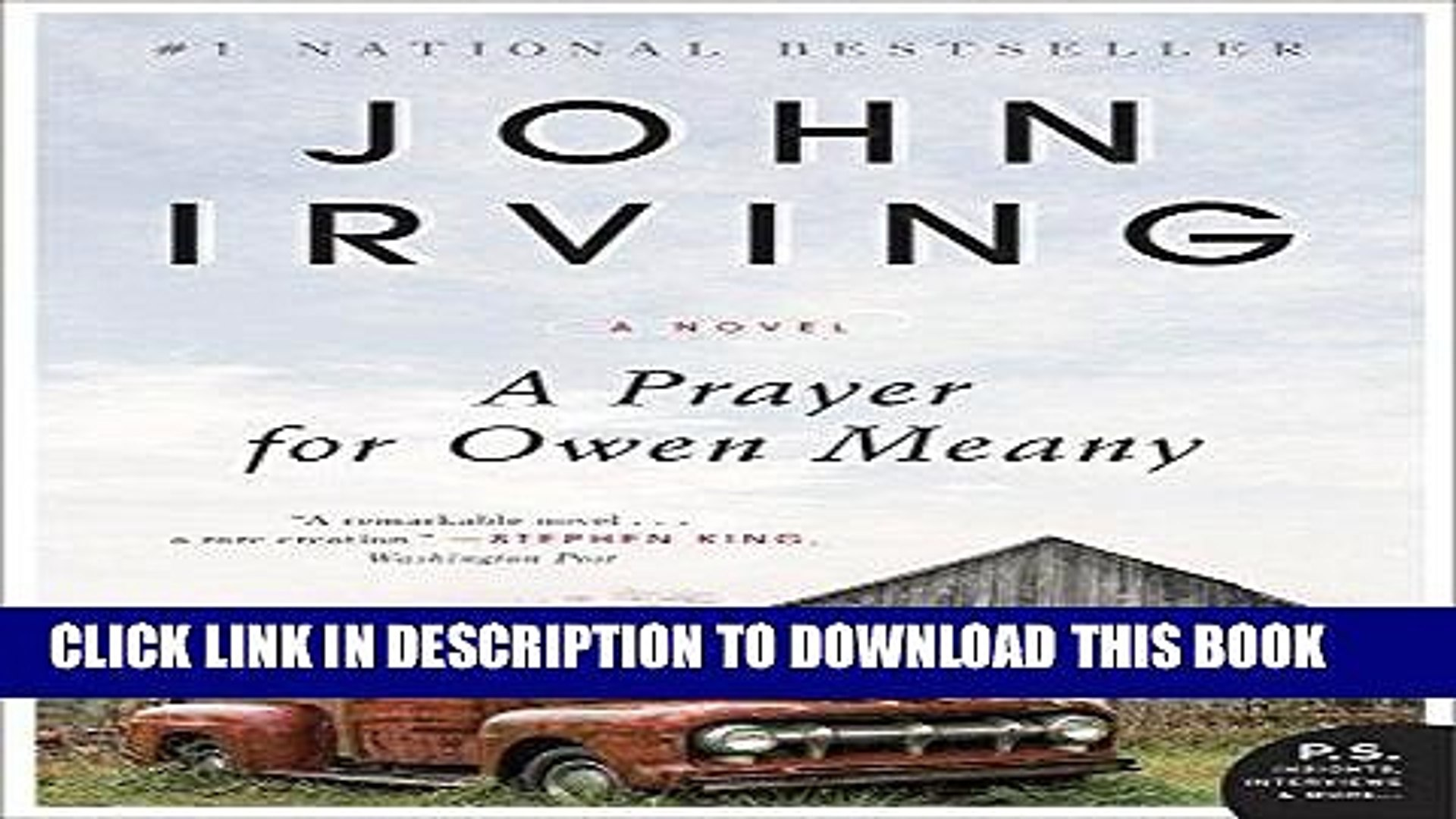 a prayer for owen meany pdf free download