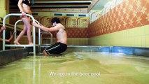 Piquer une tête dans une piscine remplie de bière c'est possible dans cette brasserie insolite