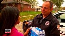Une femme offre un sac en plastique à un policier en deuil, mais lorsque ce dernier découvre ce qu'il y a l'intérieur, i