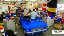Ils réalisent une Ford Mustang 1964 en LEGO ten taille réelle