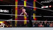 WWE 2K17 TLC 2016 Dean Ambrose vs. AJ Styles!  | Epic Match Highlights!