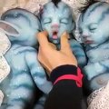 Mignons et effrayants, ces bébés avatars rendent fou les internautes