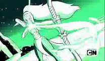 Steven Universe - Pearl & Amethyst Fuse Opal Again And Steven Masters His Gem (Clip) The Return