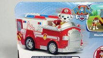 Paw Patrol Rescue Marshall EMT Ambulance Nickelodeon Unboxing Demo Review