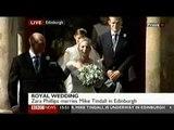 Royal Wedding: Zara Phillips Weds Mike Tindall - part 2