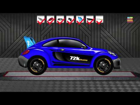 Sports Car | Cars | Cartoon Cars | Cars Race | Kids Sports  Car