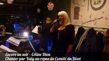 Encore un soir - Celine Dion chanter par Valy au repas dansant du Comite du Bizet