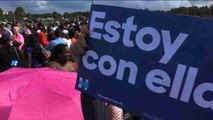 Votantes hispanos buscan hacer historia en unas reñidas elecciones presidenciales