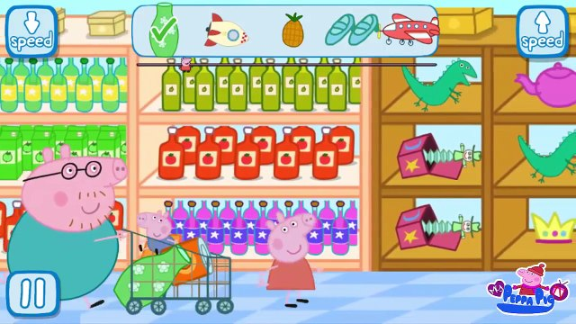 Play Peppa in The Supermarket | Peppa Kids Mini Gamesplay | My Peppa Pig TV