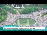Jakarta Protests: Tens of thousands rally against governor