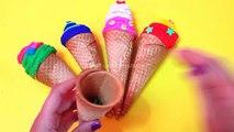 Play Doh Eggs - İce Cream surprise - Cars la pelicula Minions pelicula Hello kitty pelicula