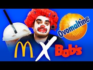 BOBS X MCDONALDS - Milkshake de Ovomaltine