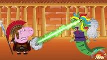 Peppa pig Español Doctor Visit! Peppa Pig English George Crying Get Sick Love Story Parody #2