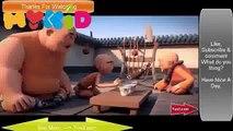 Funny Cartoon 7 Kung Fu Shaolin Monks animated Tua3com