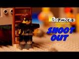 Stop Motion Animation - Lego Shootout | Lego Shooting | Lego War