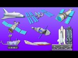 Space Vehicles   Outer Space   UFO   Astronauts   Kids Vehicles And Transport
