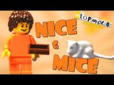 Stop Motion Animation - Lego Nice And Mice Episode 1 | Lego Stop Motion Movie  | Lego | Lego Mouse