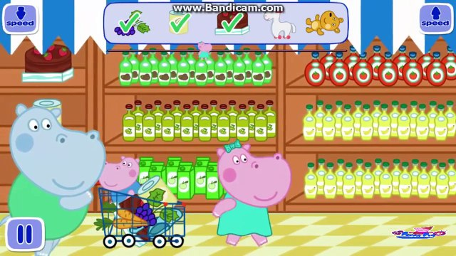 Hippo Peppa in The Supermarket Gameplay | Peppa Kids Mini Games Android | My Peppa Pig TV