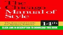 Best Seller The Chicago Manual of Style: The Essential Guide for Writers, Editors, and Publishers