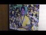 Wesley Safadão visita o Museu Seleção Brasileira e encontra Tite na CBF