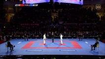 Male Kumite Final -60 Amir Mehdizadeh IRI V Geoffrey Berens NED 2016 WKF World Championships
