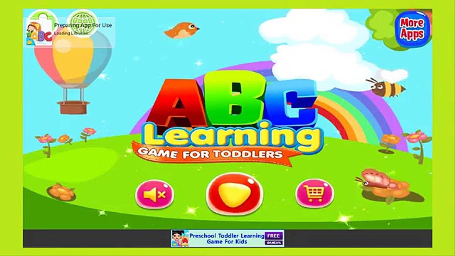 ABC learning - kids learn Letters Alphabet - Education App School Kids, Gameplay video