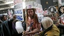 Presidenciais EUA: A euronews no local da festa do sucessor de Obama