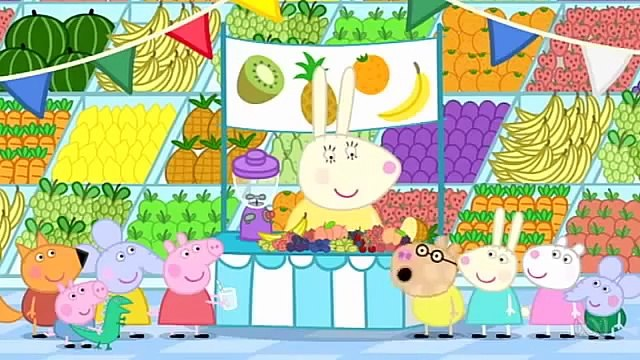 Peppa Pig English Season 4 Full Episodes 45 = Fruit
