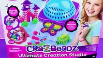 Cra-Z-Art Shimmer & Sparkle Cra-Z-Beadz Ultimate Creation Studio Fun Crafts for Kids! DisneyCarToys