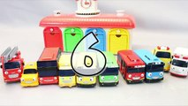 Disney Cars Tayo the Little Bus English Learn Numbers Colors Toy Surprise Toys part2