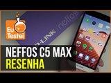 Neffos C5 Max tem mais tela, mais bateria e mais câmera! É bom? - Vídeo Resenha EuTestei Brasil
