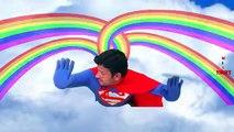 Superman Vs Joker | Superman M&Ms Party Food Poisoned Fart - Fun Superhero Real Life
