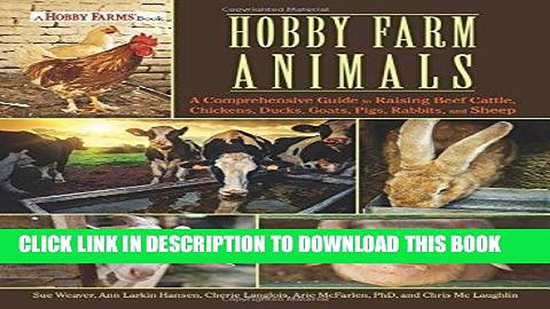 [PDF] Hobby Farm Animals: A Comprehensive Guide to Raising Chickens, Ducks,  Rabbits, Goats, Pigs,