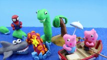 #Peppa Pig #Stop Motion #Play Doh! Peppa Pig with Play Doh #Shark Stop Motion! Peppa Pig Play Doh!