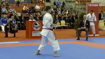 Thrilling Kata competition in first day of 2016 Karate World Championships