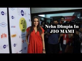 Neha Dhupia | 18th Jio Mami Host Red Carpet Premiere of A Death In The Gunj