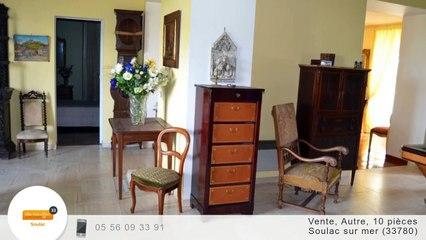 A vendre - Chateau - Soulac sur mer (33780) - 10 pièces - 327m²