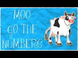 Counting cows | Learn numbers from 1 to 5
