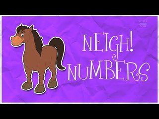 Counting Horses | Learn numbers from 1 to 6