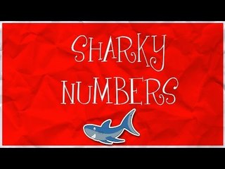 Counting Sharks | Learn numbers from 1 to 10