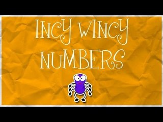 Counting Spiders | Learn numbers from 1 to 9