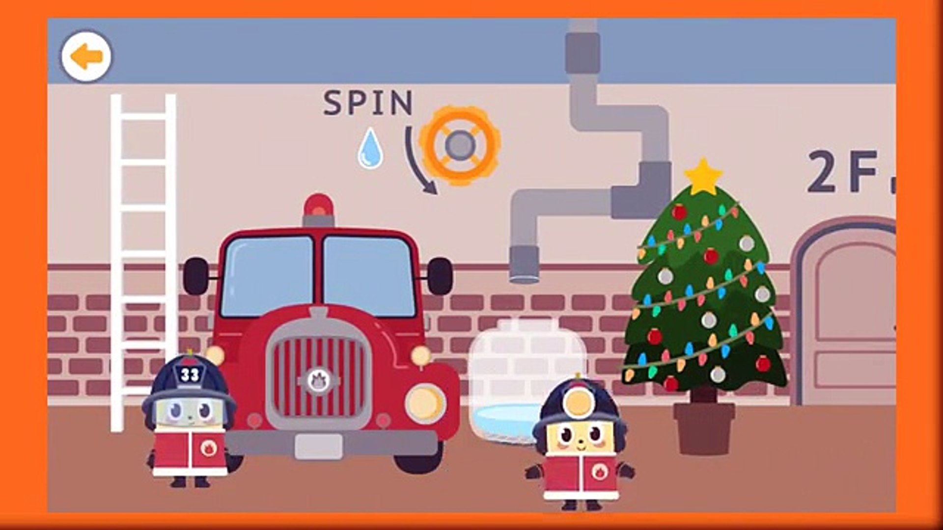 Jobi Jobi Fire Station - Education App gameplay video for Kids