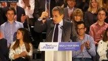 """Nicolas Sarkozy : """"Je n'accepte pas dans nos écoles qu'il y ait des tables de juifs et des tables de musulmans"""""""