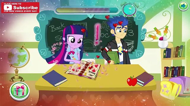 Equestria Gurls Naughty School Day - Pinkie Pie, Twilight and Flash Naughty in School