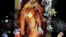 30 modèles de tatouages plumes - Idées tatouages femmes.