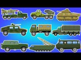 Army Vehicles | Military Vehicles | Learn Vehicles