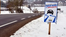 Pneus hiver : les automobilistes français hésitent à s'équiper