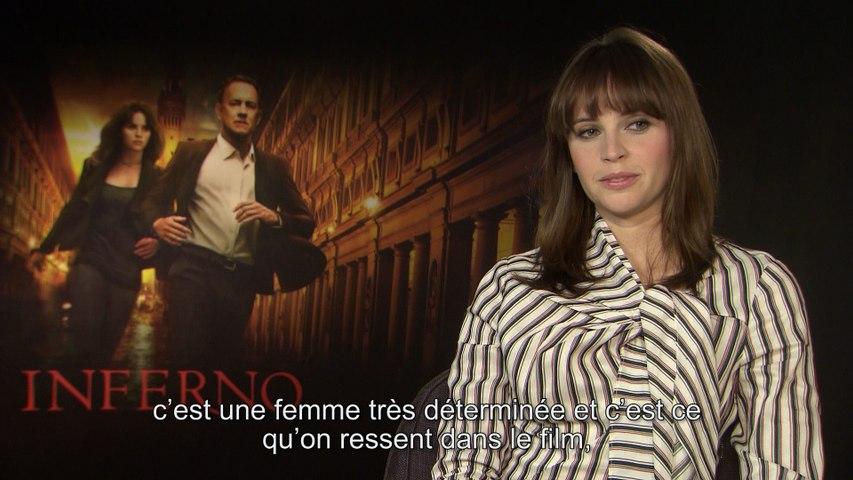 Felicity Jones : Inferno, féminisme et Tom Hanks... Notre interview
